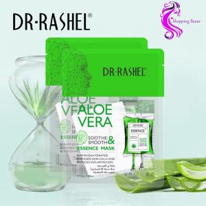 ALOE VERA ESSENCE MASK DR. RASHEL Daraz.pk DR. Rashel Aloe Vera Soothe & Smooth Mask 5Pcs | Online shopping Website In Pakistan