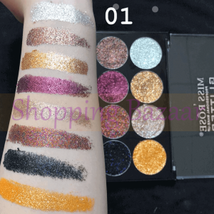 Miss Rose Glitter Eyeshadow Palette | online cosmetics shopping in pakistan payment on delivery miss rose cosmetics wholesale miss rose cosmetics pakistan instagram miss rose cosmetics company miss rose makeup kit price in pakistan miss rose outlet in lahore miss rose foundation price in pakistan miss rose outlet in islamabad miss rose makeup fixer price in pakistan Shopping Bazaar